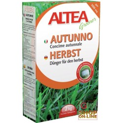 ALTEA FALL GRANULAR FERTILIZER FOR APPLICATIONS IN THE AUTUMN ON TURF KG. 2