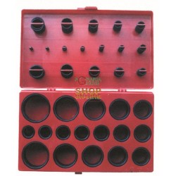 ASSORTMENT RINGS RUBBER O-RINGS CASE 419 PIECES