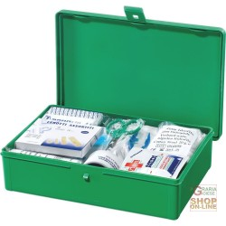 BOX, MEDICATION PLASTIC COLOR GREEN SIZE 20X17X7 5 CM