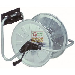 HOSE REEL WALL AGRATI ART.131 PLATED STEEL MT. 50