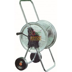 HOSE REEL CART AGRATI ART.210 PLATED STEEL MT. 50