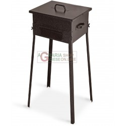 CHARCOAL FOR THE BARBECUE FORNACETTA MODEL TAORMINA CM. 25x25x66h.