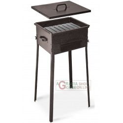 CHARCOAL FOR THE BARBECUE FORNACETTA MODEL TAORMINA CM. 25x25x66h. WITH REINFORCED BOTTOM