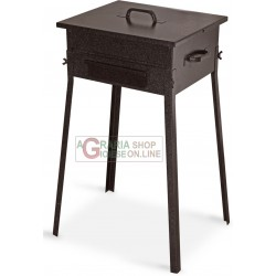 CHARCOAL FOR THE BARBECUE FORNACETTA MODEL TAORMINA CM. 30x35x66h.
