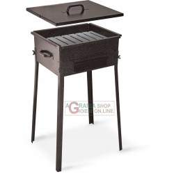 CHARCOAL FOR THE BARBECUE FORNACETTA MODEL TAORMINA CM. 30x35x66h. WITH REINFORCED BOTTOM