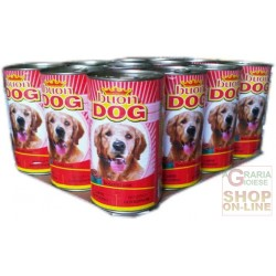 BAUFIOC DOG BEEF GR. 1250 STD. 12 CANS