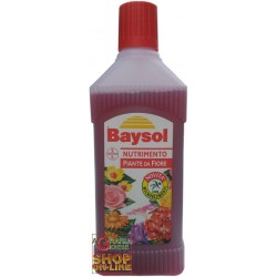 BAYSOL LIQUID FERTILIZER FOR THE NOURISHMENT OF PLANTS, FROM FLOWER TO ML. 500