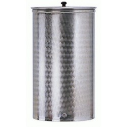 BELVIVERE CONTAINER IN STAINLESS STEEL 18/10 AISI 316 FOR FOOD LT. 500