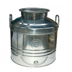 BELVIVERE STAINLESS STEEL CONTAINER LT. 30