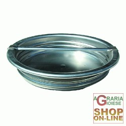 BELVIVERE CAP FOR THE CONTAINER, STAINLESS STEEL