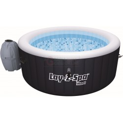 BESTWAY 54123 LAY-Z-SPA MIAMI SWIMMING POOL WITH JACUZZI FOR FOUR ADULTS CM. 180X65