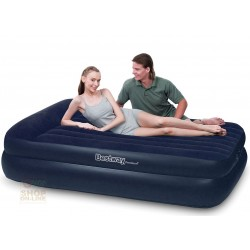 BESTWAY BED MATTRESS CAR INFLATABLE DOUBLE FLOCKED CM 203X163X48 MOD. 67403