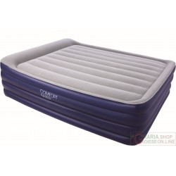 BESTWAY QUEEN INFLATABLE MATTRESS BED AIRBED DREAM GLIMMERS OF 132X76X46 MOD. 67528