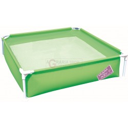 BESTWAY 56217 POOL TOWEL RECTANGULAR STEEL PRO FRAME CM. 122x122x30.5h.