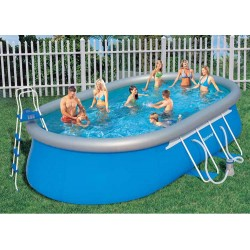 BESTWAY SWIMMING POOL SELF-SUPPORTING CM. 549x366x122 MOD. 56153