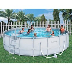 BESTWAY swimming POOL WITH FRAME cm. 549x132h mod. 56232