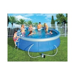 BESTWAY INFLATABLE SWIMMING POOL COMPLETE DIAM. CM.457X107 mod. 57127