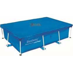BESTWAY 58105 CLOTH TOP POOL COVER RECTANGULAR CM.260X170