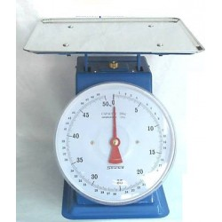 KITCHEN SCALE WITH FLAT PLATE STEEL OLD STYLE SUPRELLE KG. 50 FLAT