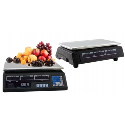 ELECTRONIC SCALE DIGITAL PRECISION WEIGHT CALCULATION AND PRICE KG. 40