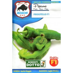 BISON SEEDS OF PEPPER FRIGGITELLO F1 HYBRID