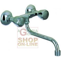 BLINKY GROUP MIXER FOR SINK WITH AERATOR A. BK-GL 3/4